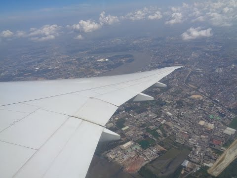 [Full Flight ] Qatar Airways Bangkok-Doha 777-300ER incl. Vortex