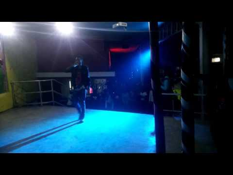 Dj brian ft Lutinum Uganda at the game club live paformance