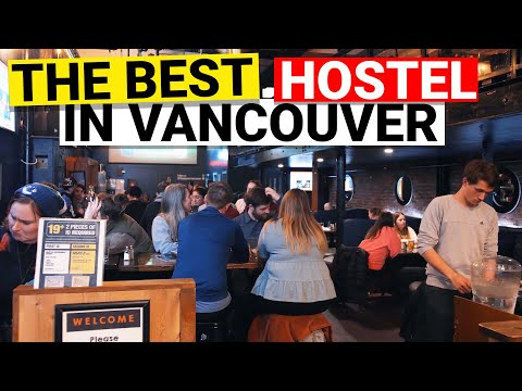 The Samesun Hostel In Vancouver BC Canada (2020)