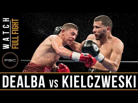 De Alba vs Kielczweski FULL FIGHT: April 4, 2017 - PBC on FS1