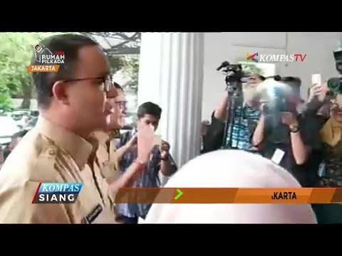 Hari Pertama Anies-Sandi Memimpin Jakarta