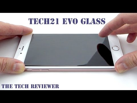 save off 9ceeb c94a1 Tech21 Evo Glass Screen Protector for iPhone 6s Plus: Easy Install ...