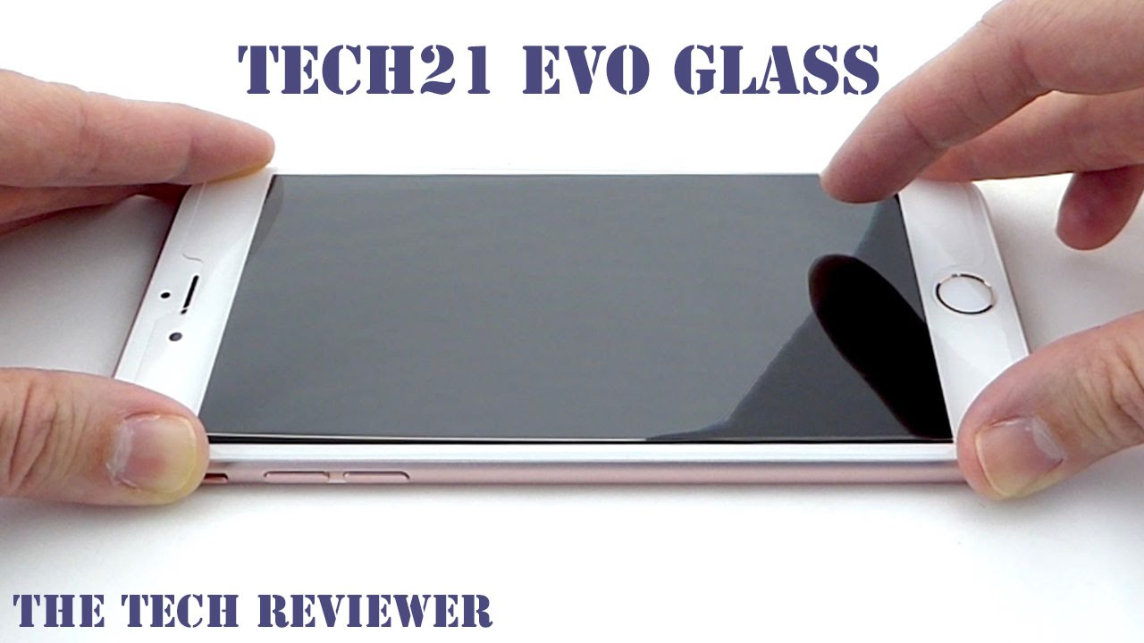 hot sale online 3e2ab eb8f1 Tech21 Evo Glass Screen Protector for iPhone 6s Plus: Easy Install and  Impressive Results!
