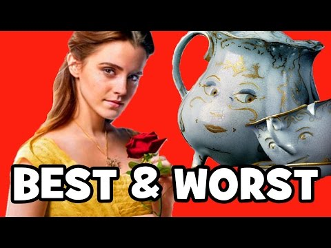 Beauty And The Beast BEST & WORST CHANGES - 2017 vs 1991