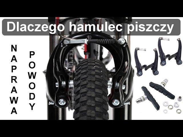 Dlaczego hamulec roweru piszczy - Naprawa