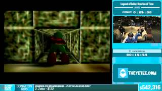 Legend of Zelda: Ocarina of Time by Jodenstone in 29:56 - Summer Games Done Quick 2015 - Part 115