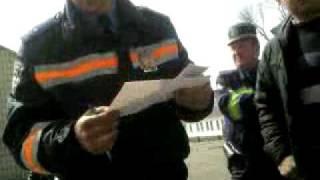 ГАИ г.Малин, Житомирская обл., Украина(Остановка за якобы проезд через пешеходную зону, позже уже за превышение скорости без предъявления своих..., 2010-05-10T17:22:16.000Z)