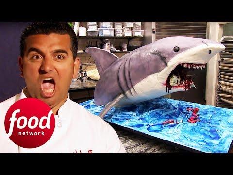 Buddy Whips Up A Terrifyingly Awesome Shark Cake! | Cake Boss