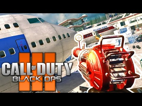"MW2 TERMINAL ZOMBIES IN BO3 MODS ""REMASTERED"" + BONUS MAPS Call of Duty Black Ops 3 Gameplay"