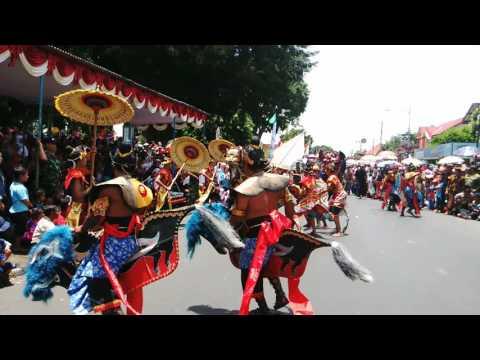 Lomba Emblek hut TNI  Wonosobo 2016