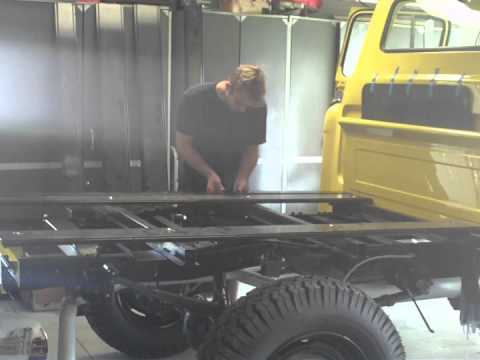 1955 Chevy Truck Bed Build Youtube
