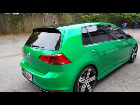 Golf R full wrap by Wrapstar