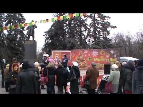 Новый год 2010 в парке Горького (спонсор - Банк Российский Капитал)