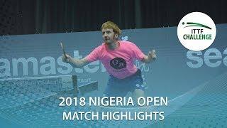 Jamiu Azeez Olugbenga vs Rumgay Gavin | 2018 Nigeria Open Highlights (R16)