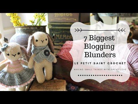 7 Biggest Blogging Blunders