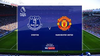 Everton Vs Manchester United Epl 1 March 2020 Gameplay