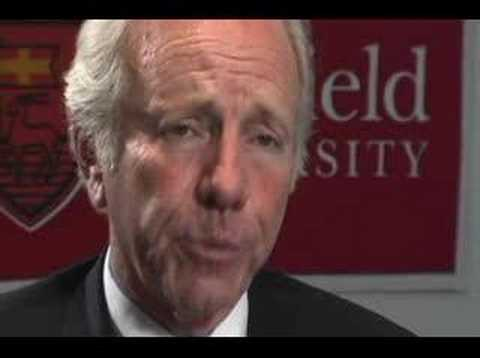 Interview With Joe Lieberman, Senator from Connecticut