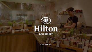 Hilton Bali Resort | Hotel Video | Culinary Journey | Videographer