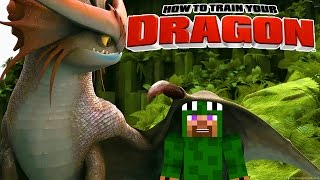 Minecraft - HOW TO TRAIN YOUR DRAGON 2 - [8] 'Missing Baby Ice Dragon'