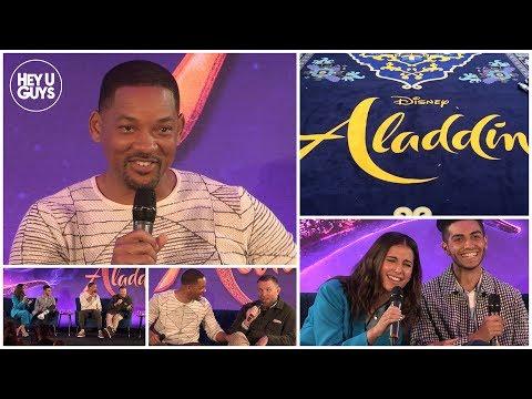 Hilarious Aladdin Press Conference in Full - Will Smith, Mena Massoud, Naomi Scott & Guy Ritchie