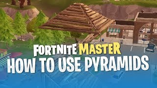 How to Use Pyramids (Fortnite Battle Royale)