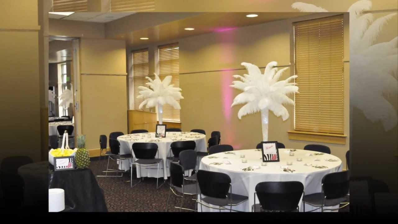 Centerpiece Rentals Wedding Centerpiece Ideas Ostrich Feather