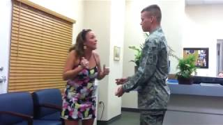 Airman Surprises His Mom for Christmas 2010