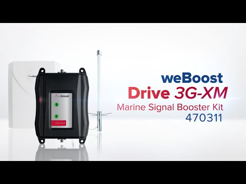 Cell Phone Signal Booster For Boat | weBoost 470311 Drive 3G-XM Marine