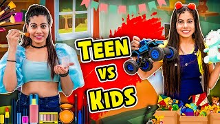 Teen vs Kids | Sanjhalika Vlog