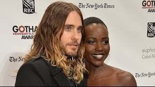 Jared Leto and Lupita Nyong