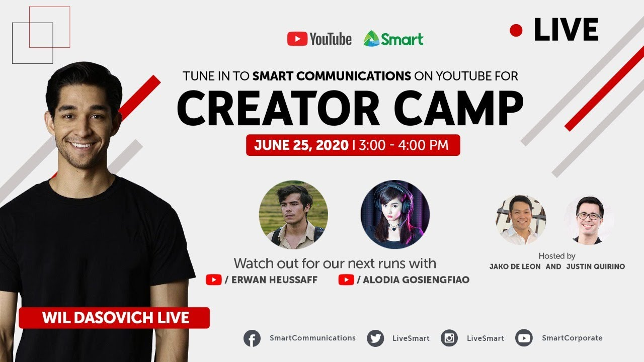 Creator Camp  2020 - The Power of Community with Wil Dasovich