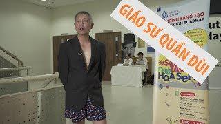 Giáo sư quần đùi cho sinh viên 2 triệu