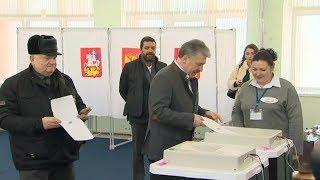 Грудинин проголосовал на выборах