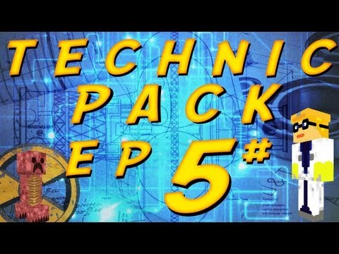 Technic pack ep.5 part.1 [red power and more machines]