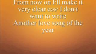 Elvis Presley- Love Song Of The Year / With Lyrics