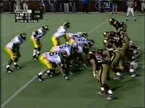 1995: Michigan 23 Boston College 13