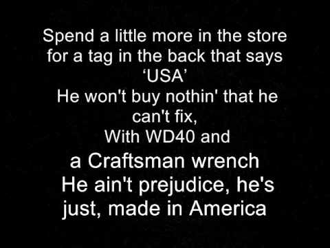 Made in America Toby Keith lyrics