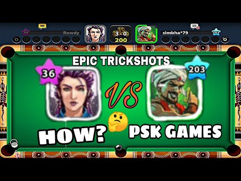 PSK GAMES VS GAMING WITH SUMIT || FULL EPIC & INDIRECT MATCH || 8 BALL POOL