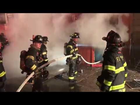 FDNY BOX 1638 - (READ DESCRIPTION CAREFULLY) FDNY BATTLING A MAJOR 5TH ALARM FIRE ON ST NICHOLAS AVE