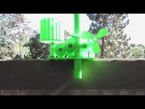 CatchTheWind - Wind Energy Stored In Gravity - Daytime