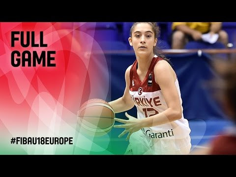 Turkey v Israel - Full Game - FIBA U18 Women's European Cham