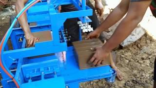 Mesin Bata Press Full Automatic Kapasitas produksi Besar