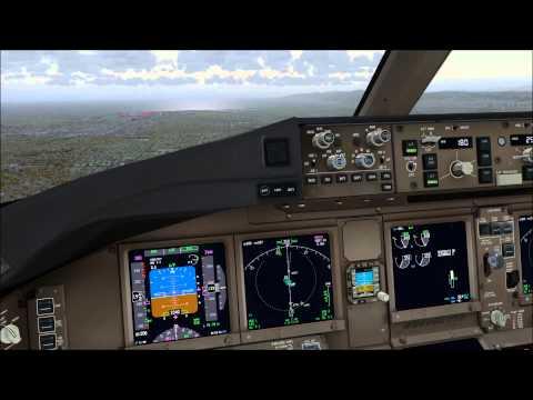 American 182 Shanghai to Los Angeles - Cockpitview - Live VATSIM-ATC
