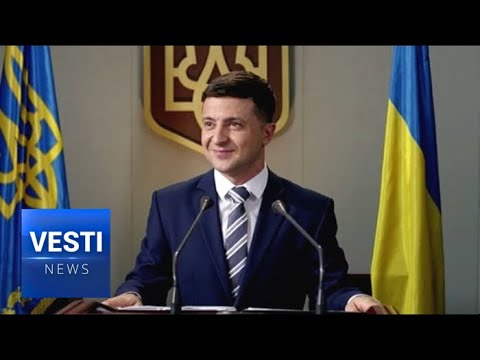 Clown Candidate Vladimir Zelensky Still in the Lead, May Actually End Up Joke President of Ukraine