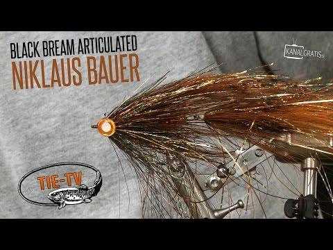 Tie TV - Articulated Black Bream - Niklaus Bauer