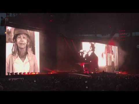 U2 - Bullet the Blue Sky Olympic Stadium Berlin