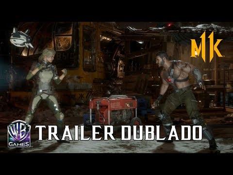 Mortal Kombat 11 - Cassie Cage e Kano (Trailer de Revelação Dublado PT-BR)