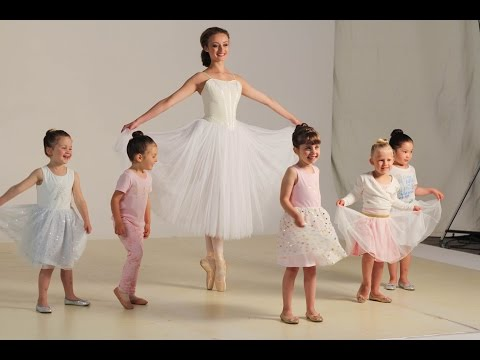 Disney and The Australian Ballet Girls Clothing TVC