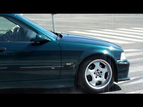 1995 BMW ///M3 3.0 E36 4D Sedan Boston Green (Original) - YouTube