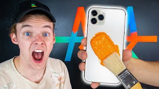 Customizing iPHONE 11 PRO and Giving It Away! 📱🔥